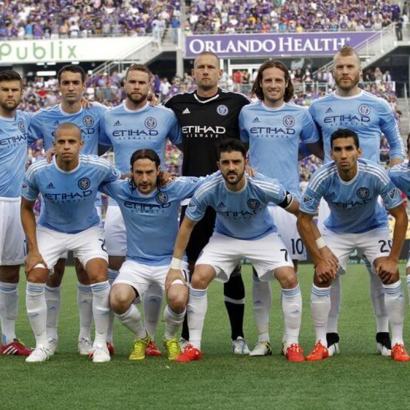 Official New York City Home Shirt Signed by the Team