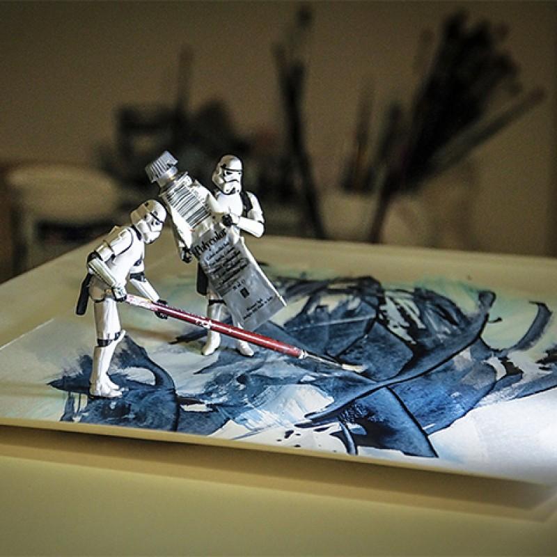 """""""Art Wars"""" by Tony Leone"""