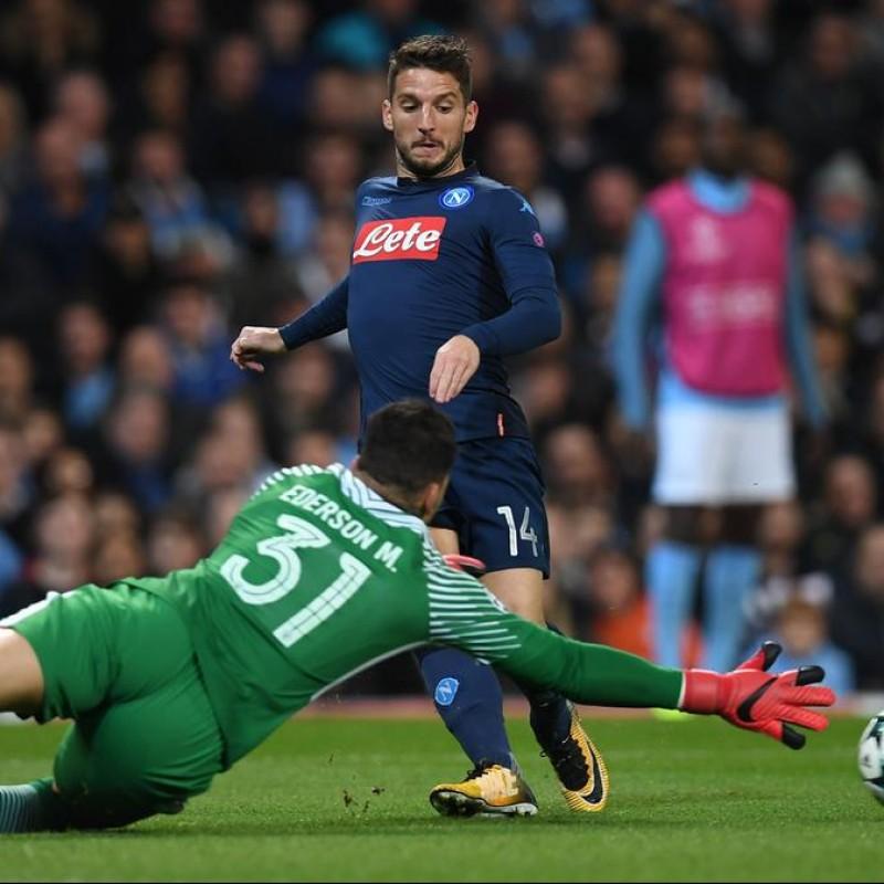 Mertens' Match Shirt, Manchester City-Napoli 2017