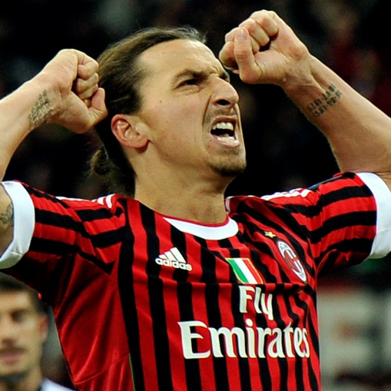 Ibrahimovic's Official Milan Signed Shirt, 2011/12