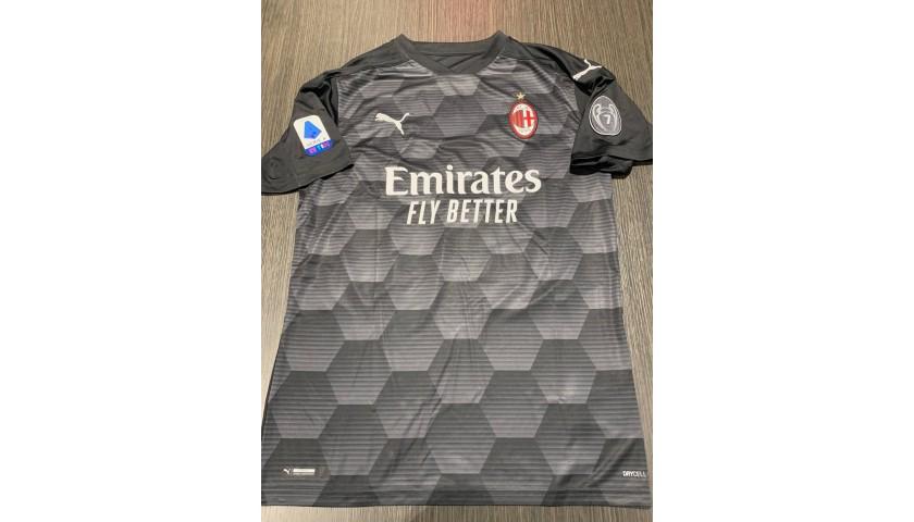 Donnarumma's Official Milan Signed Shirt, 2020/21