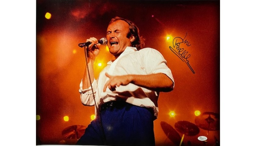 Phil Collins Signed Photo