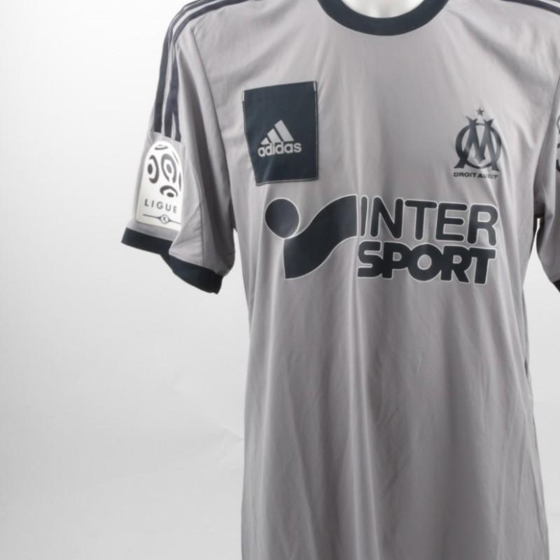 Ayew Marsiglia shirt, issued/worn Ligue 1 2014/2015
