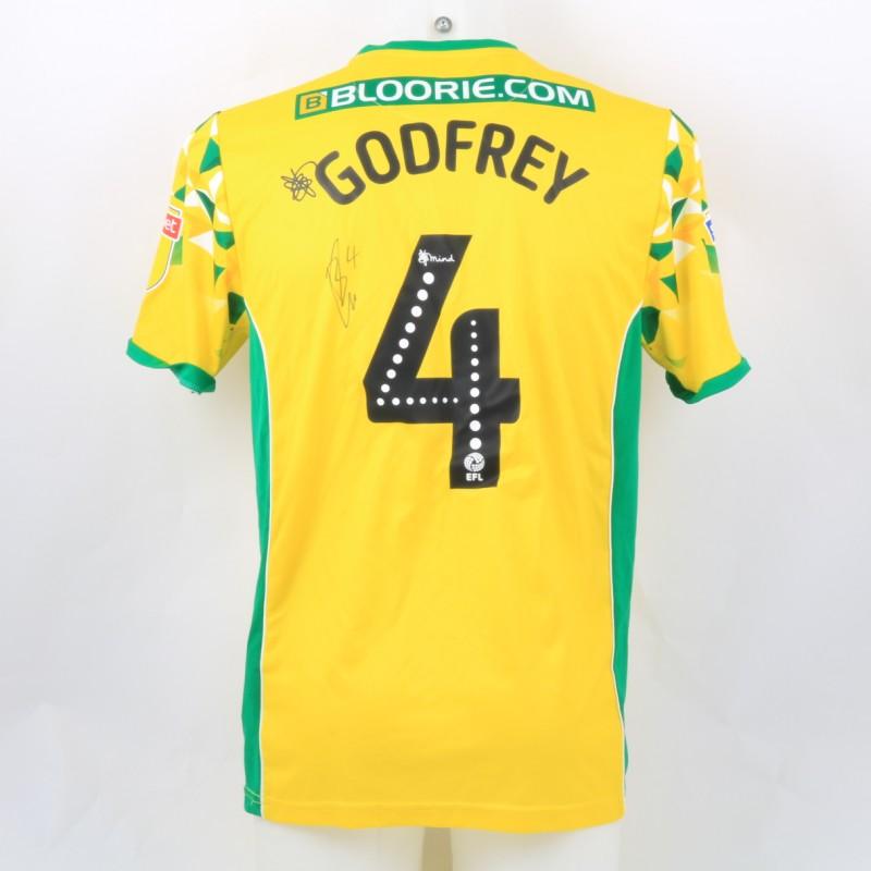 Godfrey's Norwich Poppy Match Shirt - Signed