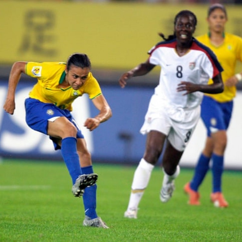 USA-Brazil 2007 Match Pennant