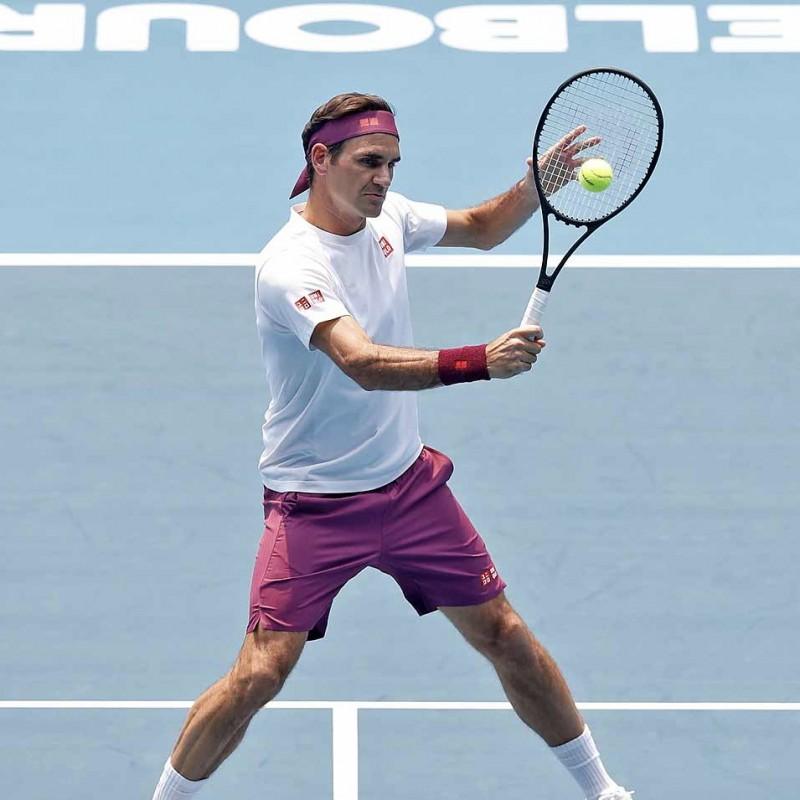 Federer Signed Match Shirt, Australian Open 2020