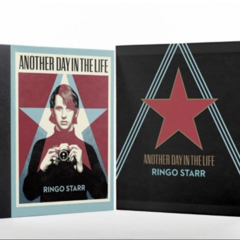 Ringo Starr Signed 'Another Day In The Life' Book