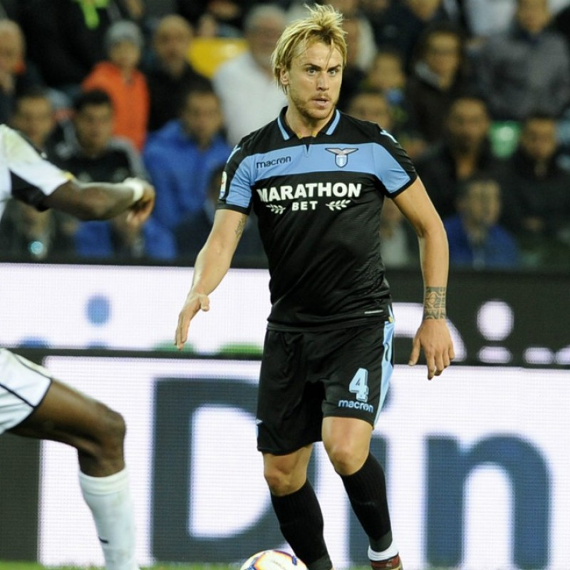 Patric's Lazio Match Shirt, Serie A 2018/19