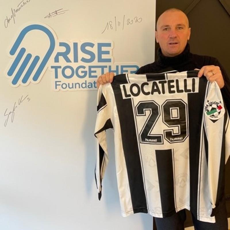 Locatelli's Udinese Worn Match Shirt, 1996/97