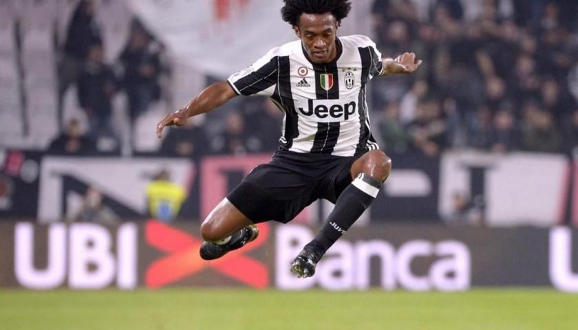 Cuadrado Match Worn, Juventus-Sampdoria 26/10/16 - Signed ...