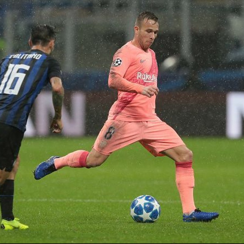 Arthur's Match Shirt, Inter-Barcelona 2018