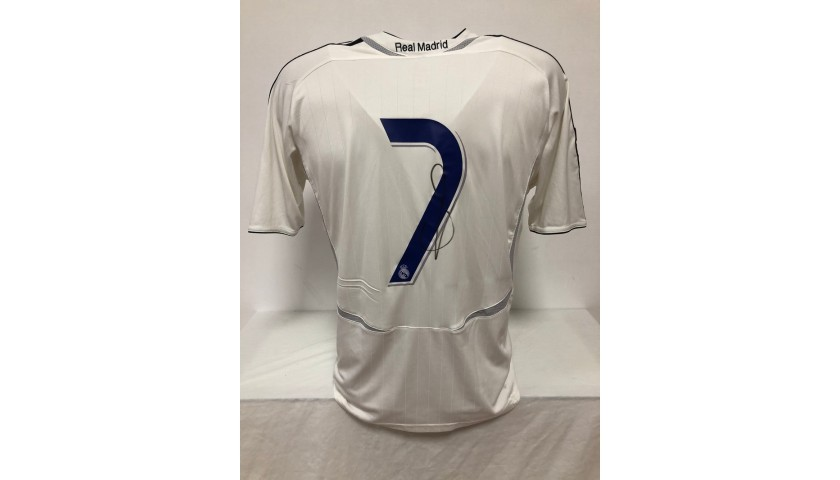 Raul's Official Real Madrid Signed Shirt, 2006/07