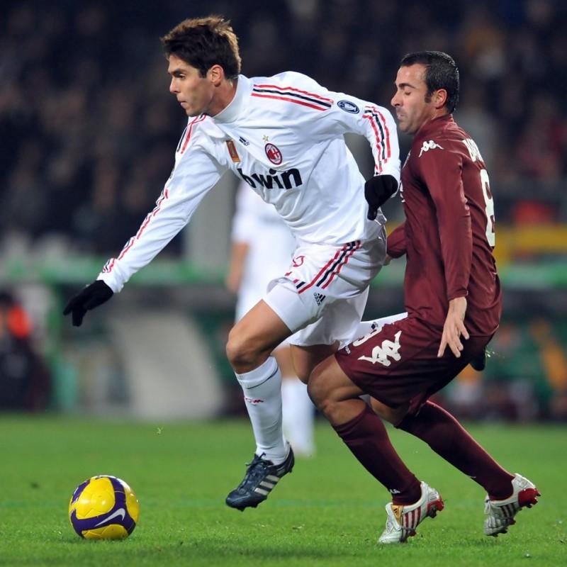 Kakà's Milan Match Shirt, Serie A 2008/09