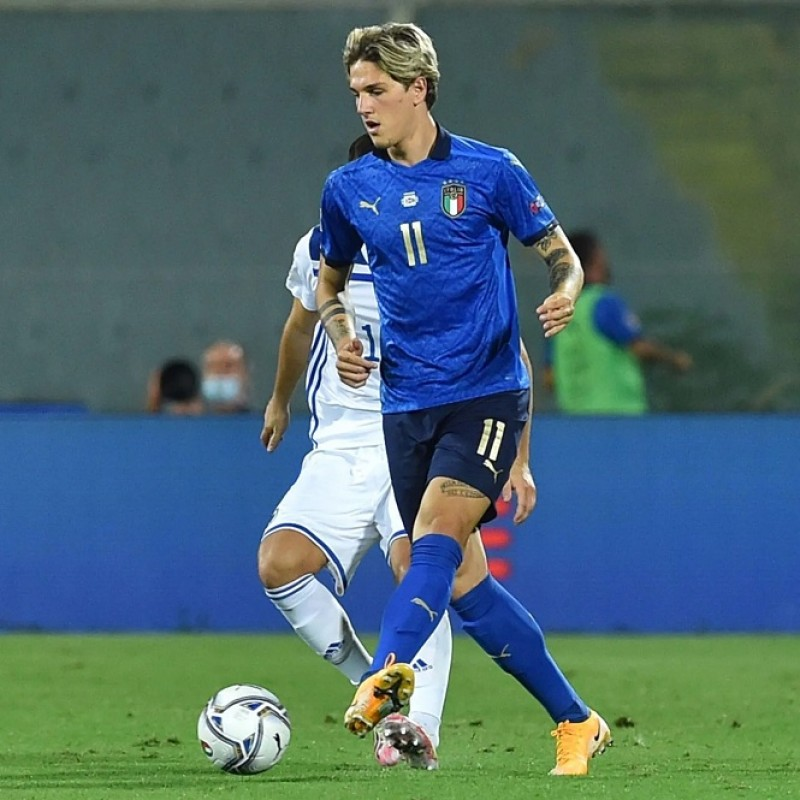 Zaniolo's Match Shirt, Italy-Bosnia 2020