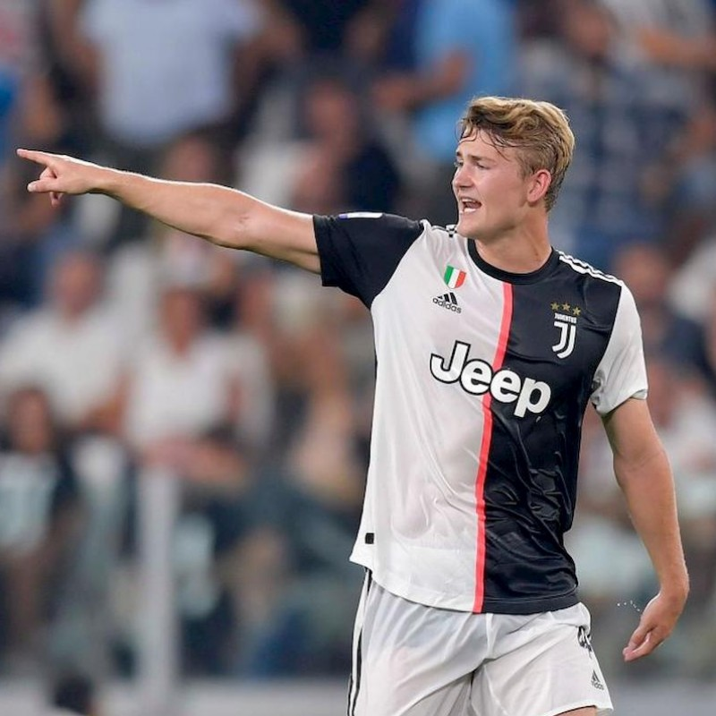 De Ligt's Juventus Signed Shirt, 2019/20