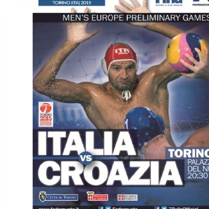 Two VIP passes for FINA Men's Water Polo World League 2015