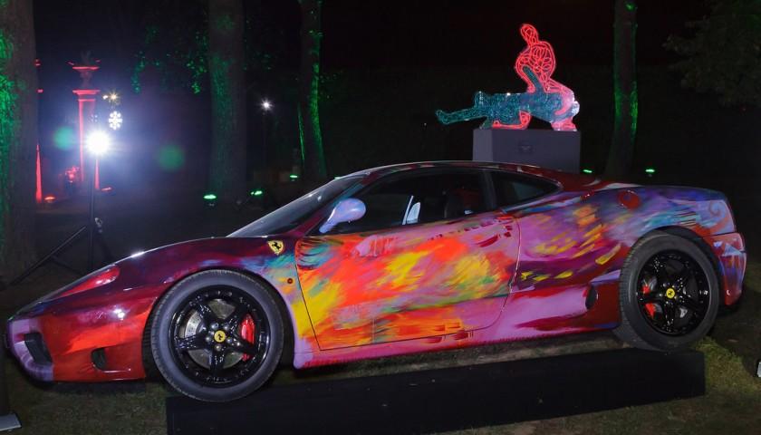 The Ferrari 360 Modena stylized by Shalemar Sharbatly