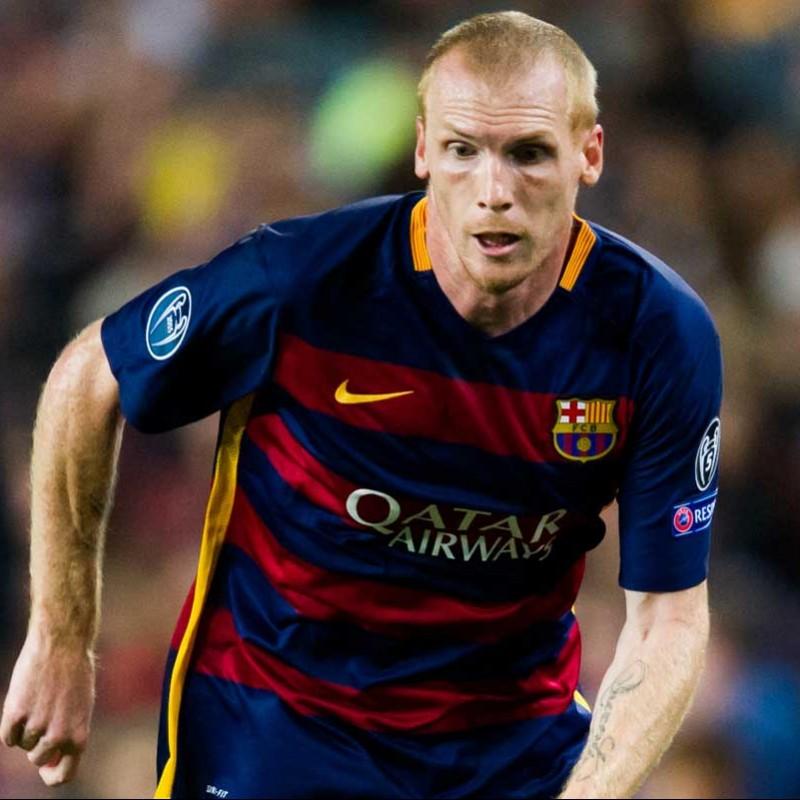 Mathieu's Barcelona Match Shirt, UCL 2015/2016