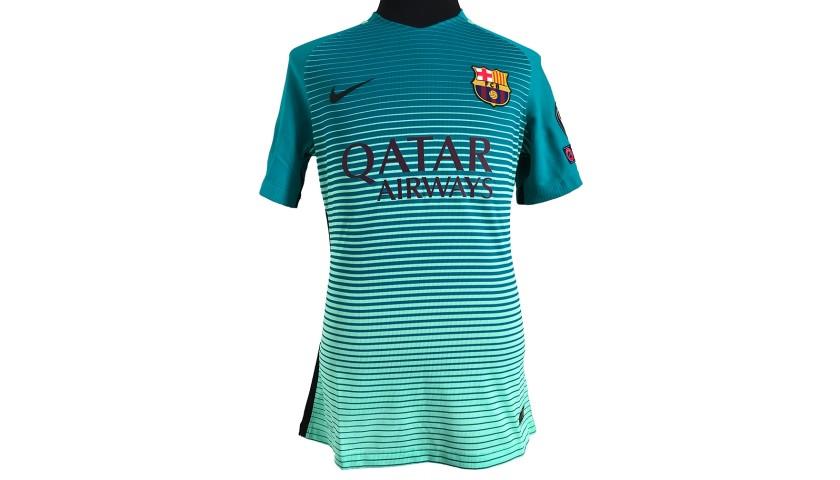 Messi's Match Shirt, PSG-Barcelona 2017