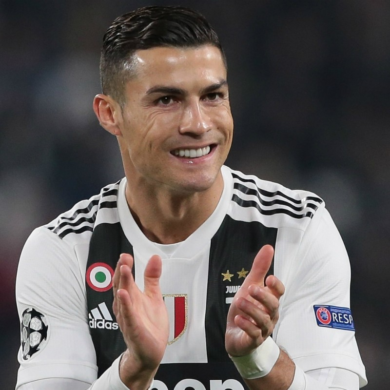 Ronaldo's Juventus Match-Issue Signed Shirt, 2018/19