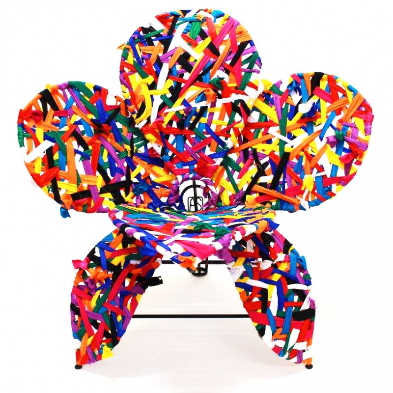 Multicolor Flower Armchair by Spazzapan
