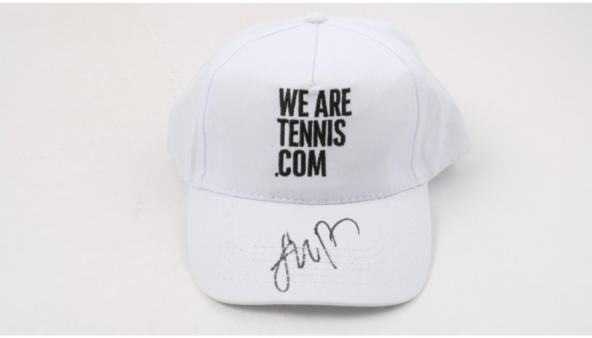 """Wearetennis.com"" Cap Signed by Nick Kyrgios"