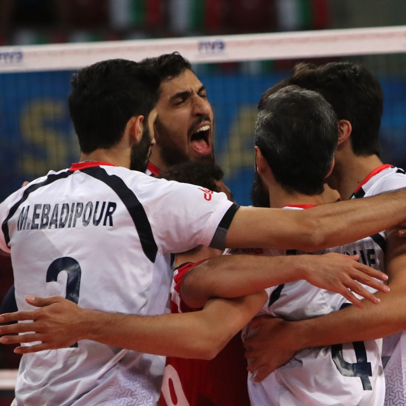 Official FIVB Volleyball Signed by the Iran National Volleyball Team