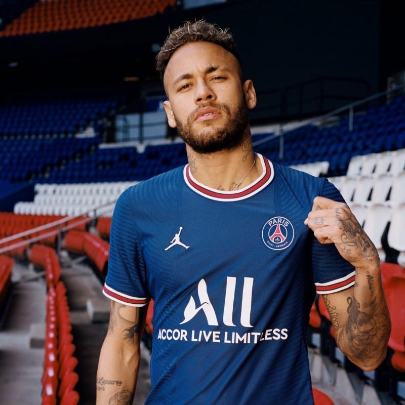 Neymar's Official PSG Signed Shirt, 2021/22