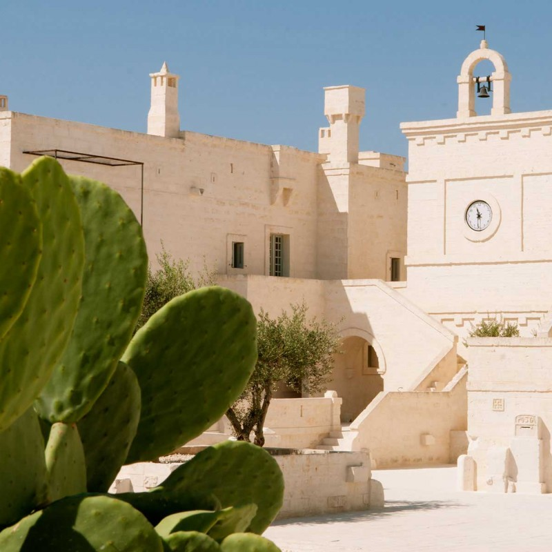 Two nights stay for two people at the Corte Borgo Egnazia in Puglia