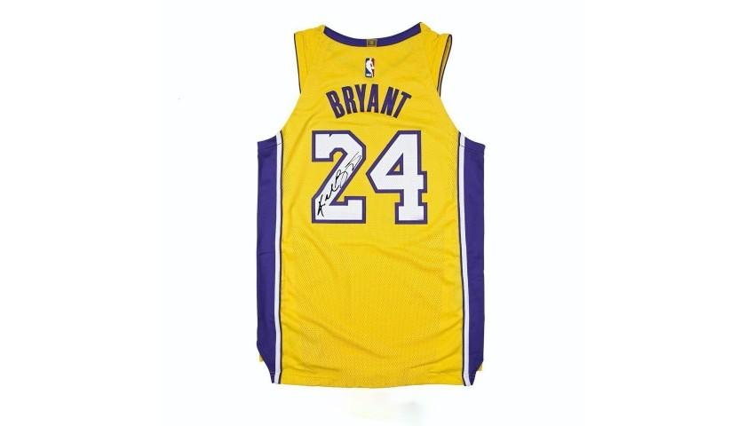 Kobe Bryant Jersey with Printed Signature