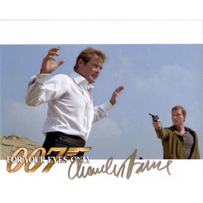 James Bond - Photograph Signed by Charles Dance