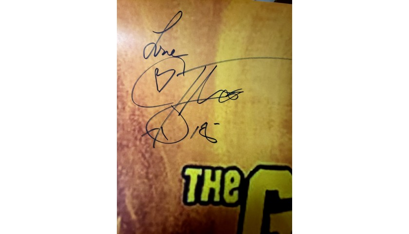 The Goonies Poster Hand Signed by Corey Feldman