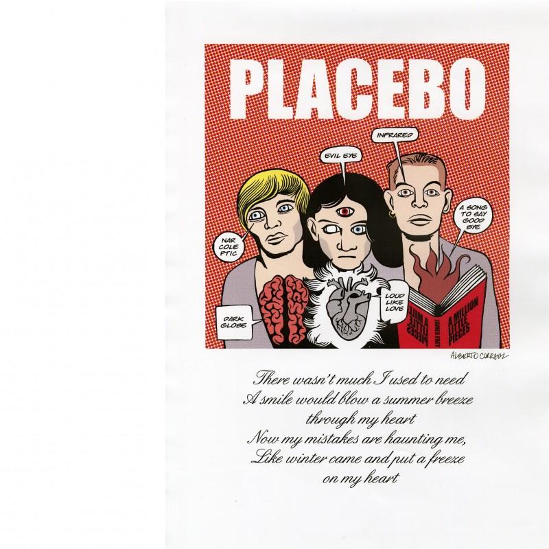 Placebo's portrait by Alberto Corradi