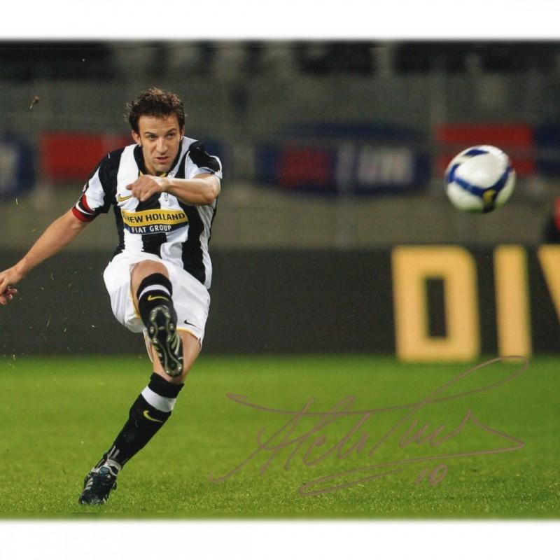 Alessandro Del Piero Signed Photograph