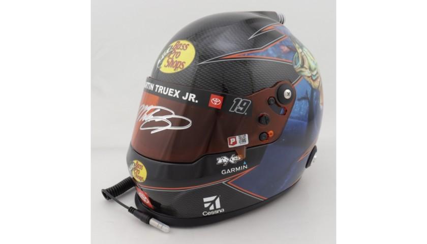 Martin Truex Jr. Signed NASCAR Helmet