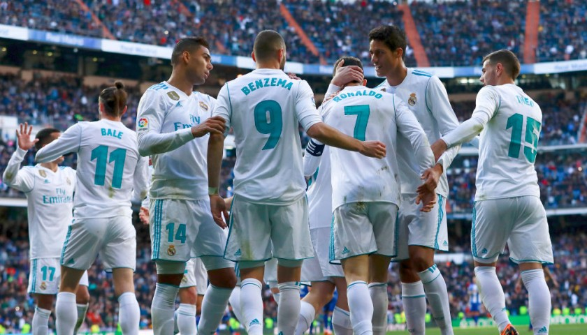 Meet the Real Madrid Team and See them Take On Manchester United