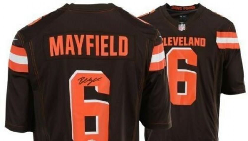 newest 4ddd6 c8915 BAKER MAYFIELD JERSEY EBAY - Youth Nike Baker Mayfield ...
