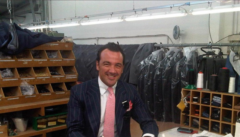 A Tailored Suit Made by Alessandro Martorana