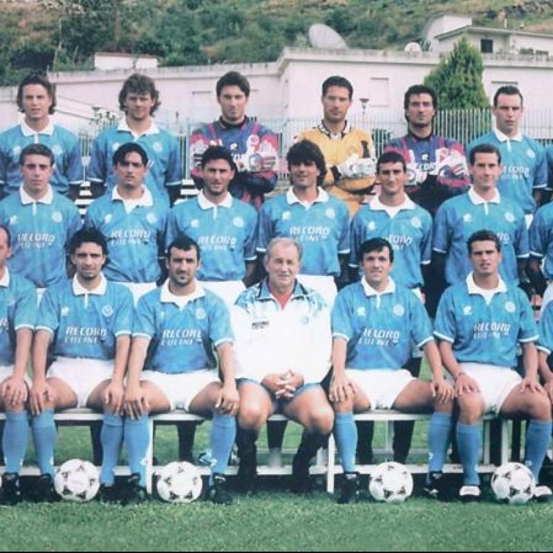 Tagliatela's Napoli Worn Serie A 1994/95 Signed Shirt