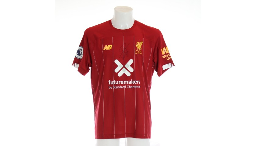 Van Dijk's Issued and Signed Limited Edition 19/20 Liverpool FC Shirt
