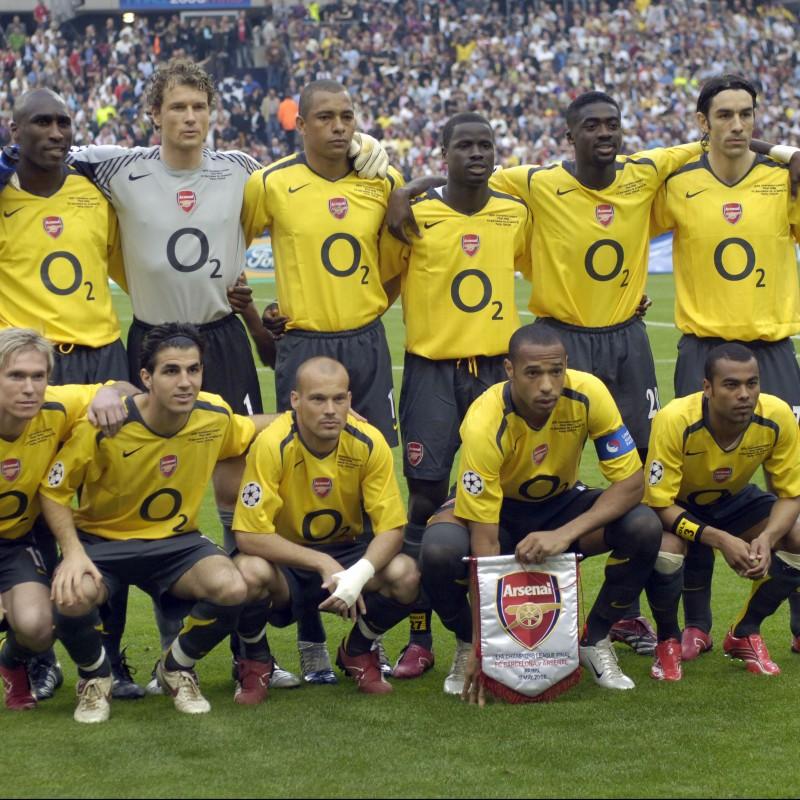 Bergkamp's Match-Issue Shirt, Juventus-Arsenal 2006