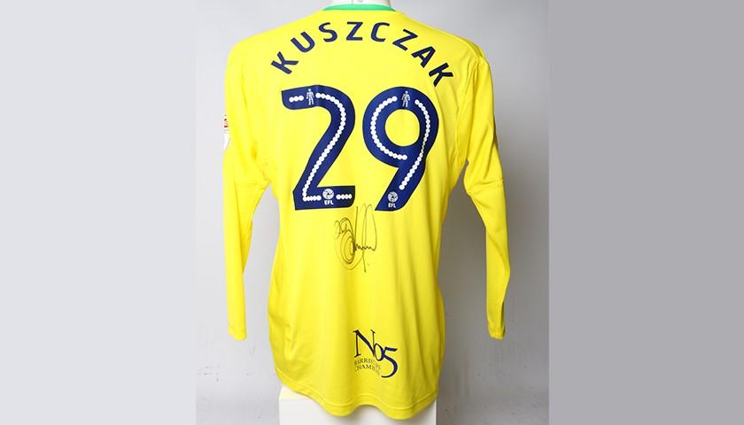 Poppy Shirt Signed by Birmingham City FC's Tomasz Kuszczak