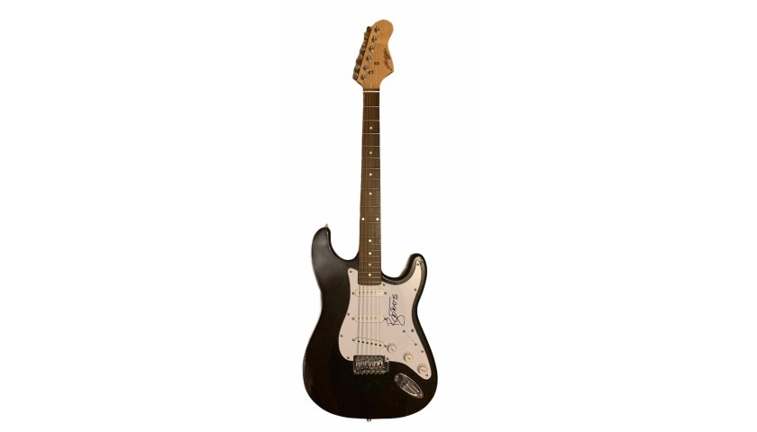 David Bowie Signed Electric Guitar