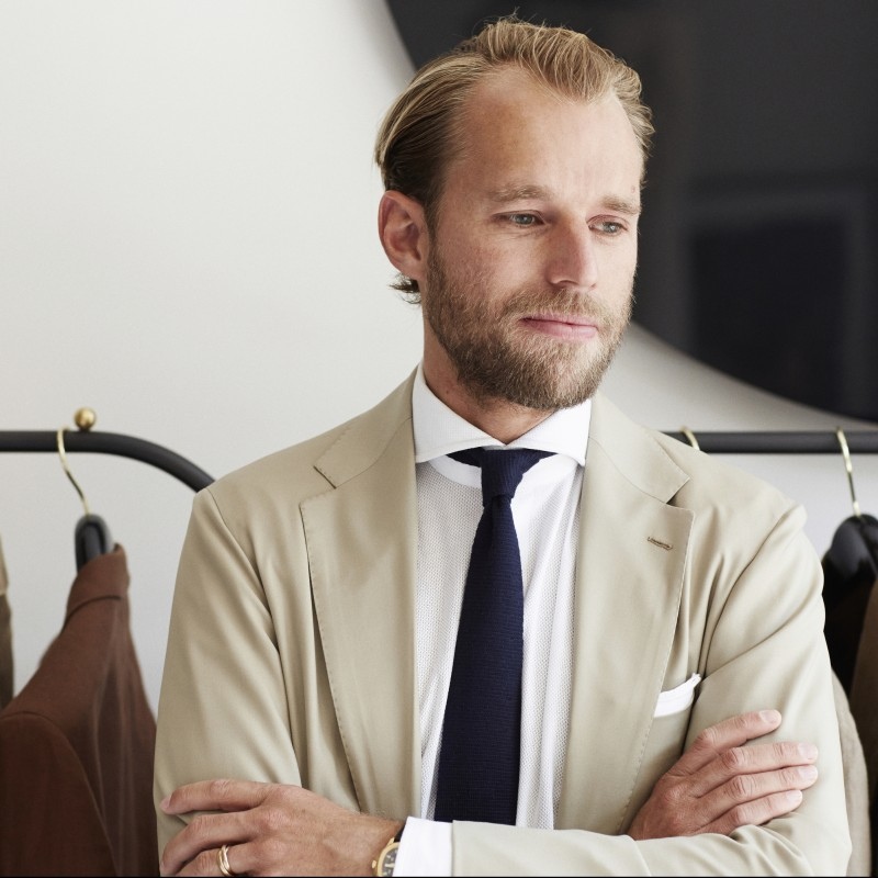 Made-to-Measure Suit from P. Johnson Tailors