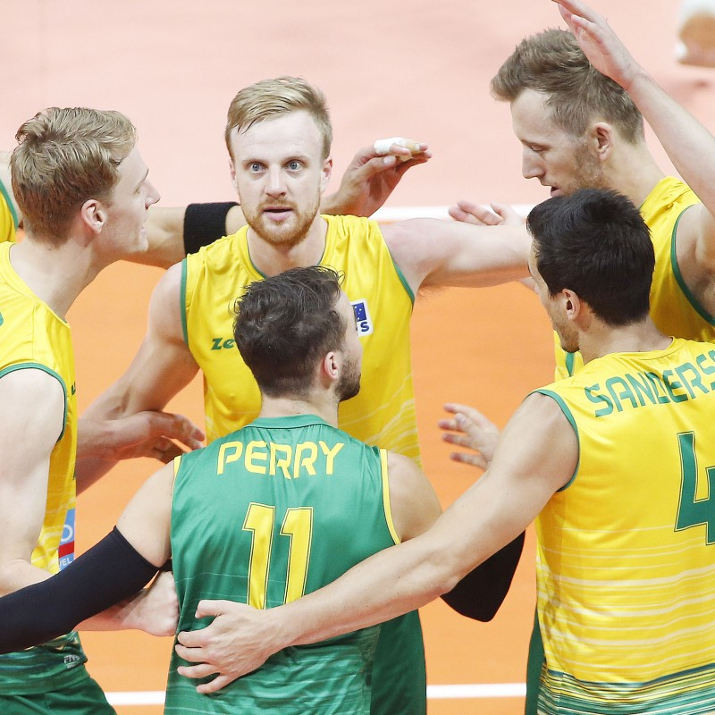 Official FIVB Volleyball Signed by the Australian National Volleyball Team