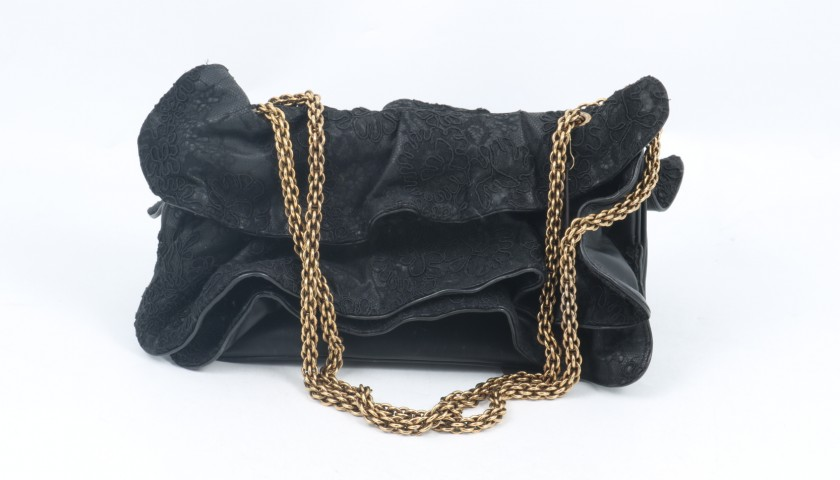 Trussardi Bag in Leather and Lace