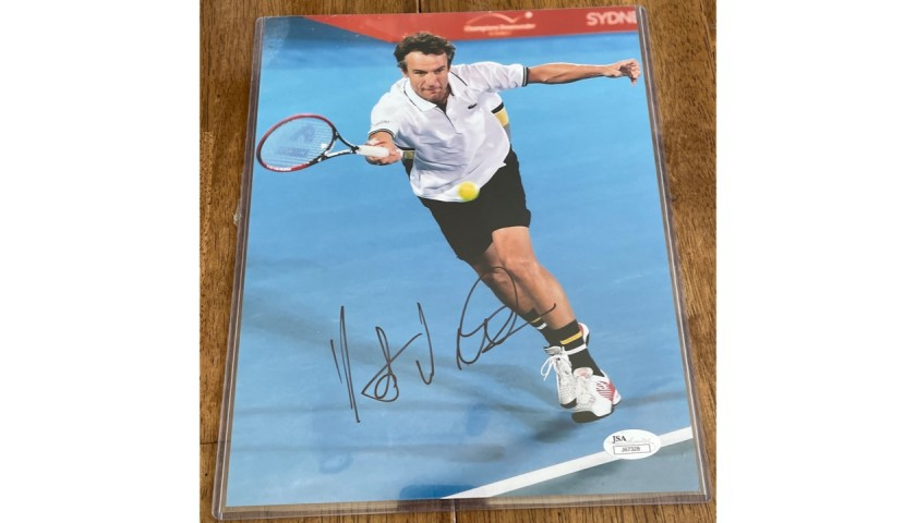 Mats Wilander Signed Photo