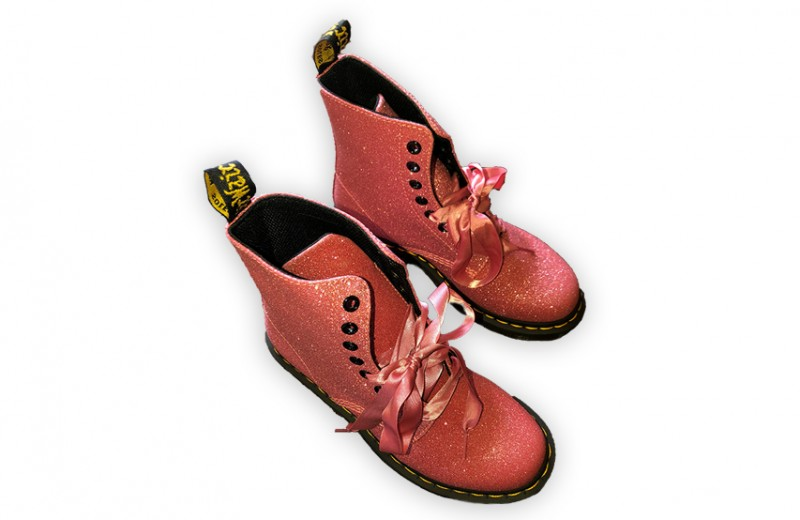 Avril's Personal Pink Dr. Martens