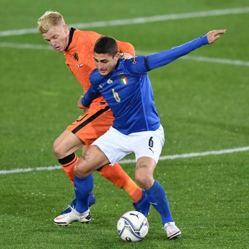 Verratti's Match Shirt, Italy-Netherlands 2020