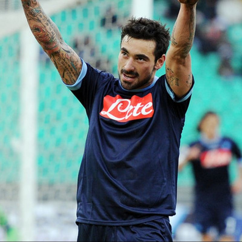Lavezzi's Napoli Worn and Signed Shirt, 2010/11 Season